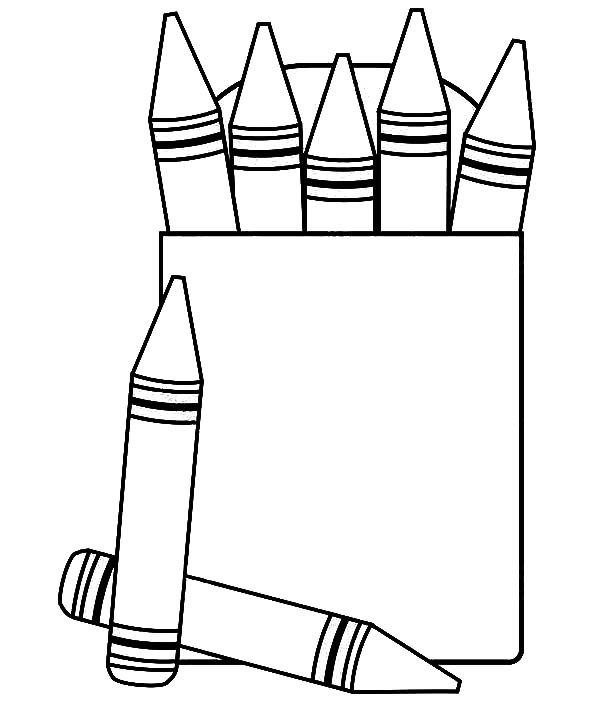 4 best images of printable crayon box coloring page crayon coloring pages printable color. Black Bedroom Furniture Sets. Home Design Ideas