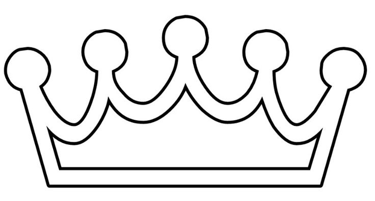 8 Images of Crown Printable Princess Coloring Pages