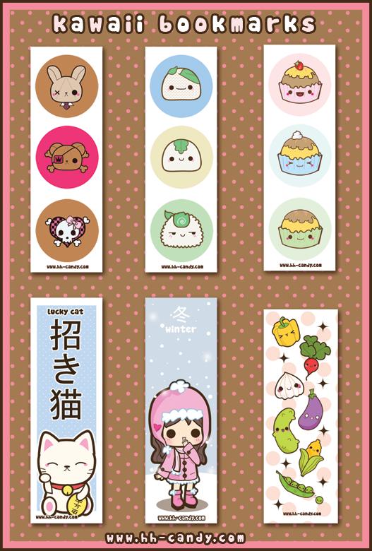 6 best images of kawaii printable bookmarks cute printable bookmarks cute animal bookmarks to