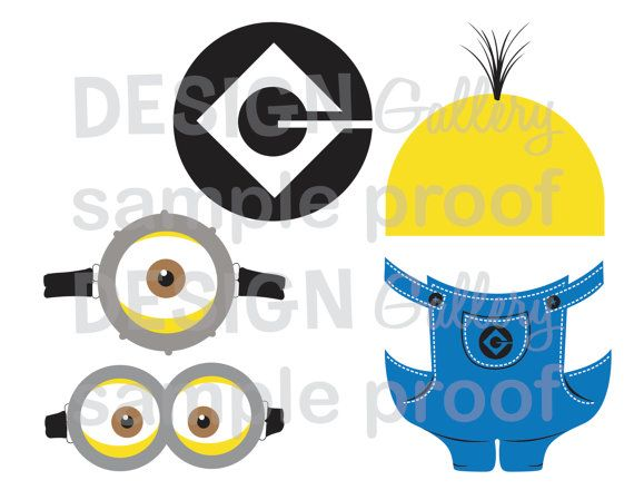 Despicable Me Minion Logo Printable