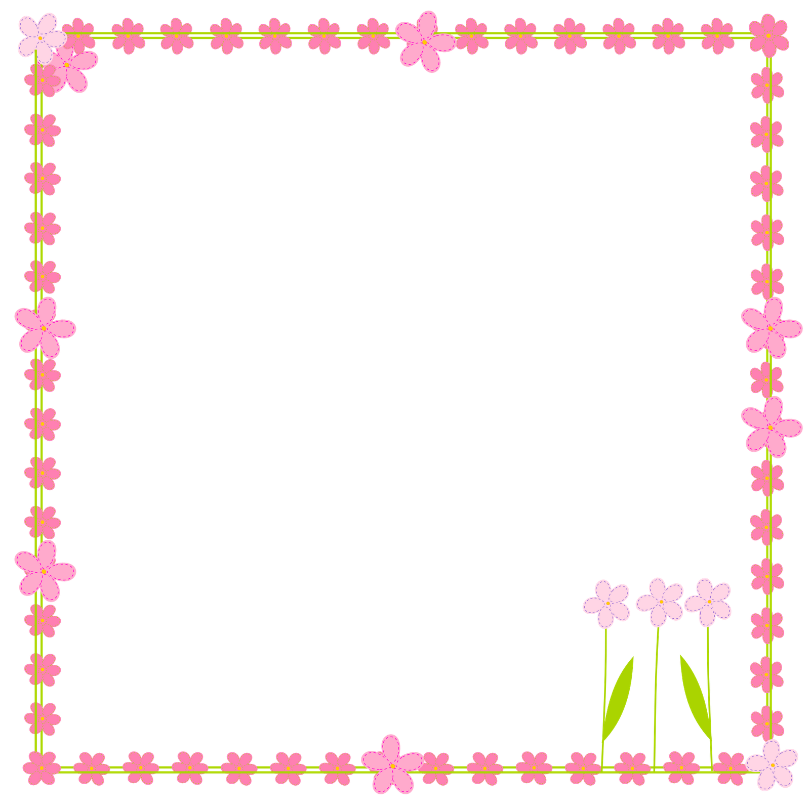 8 Images of Free Printable Summer Frames