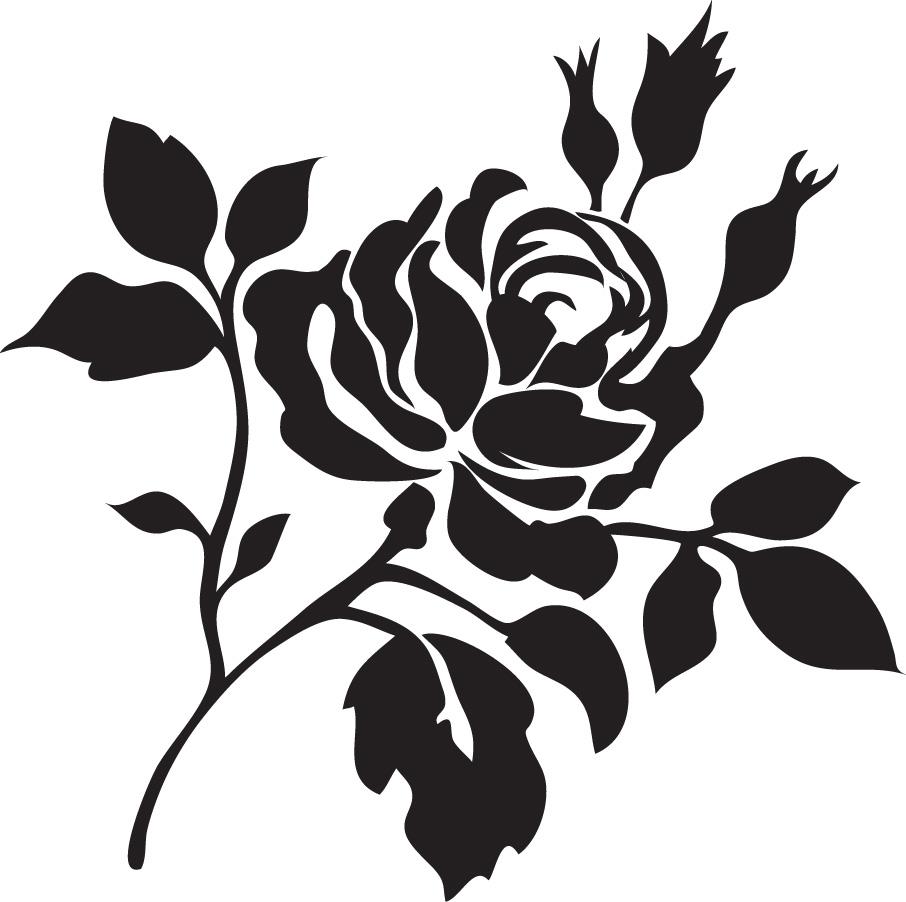 Free Design Printable Flower Stencils