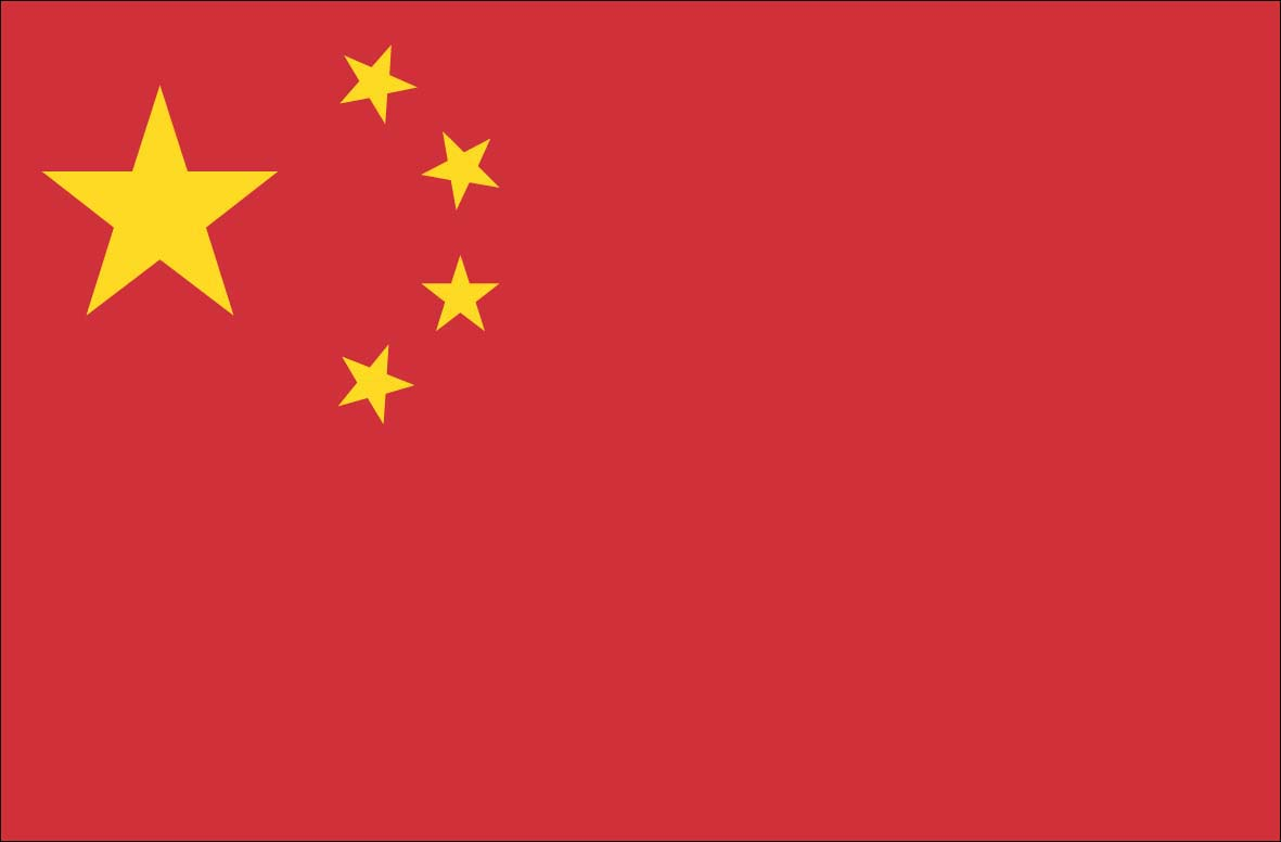 5 Images of Printable Chinese Flag
