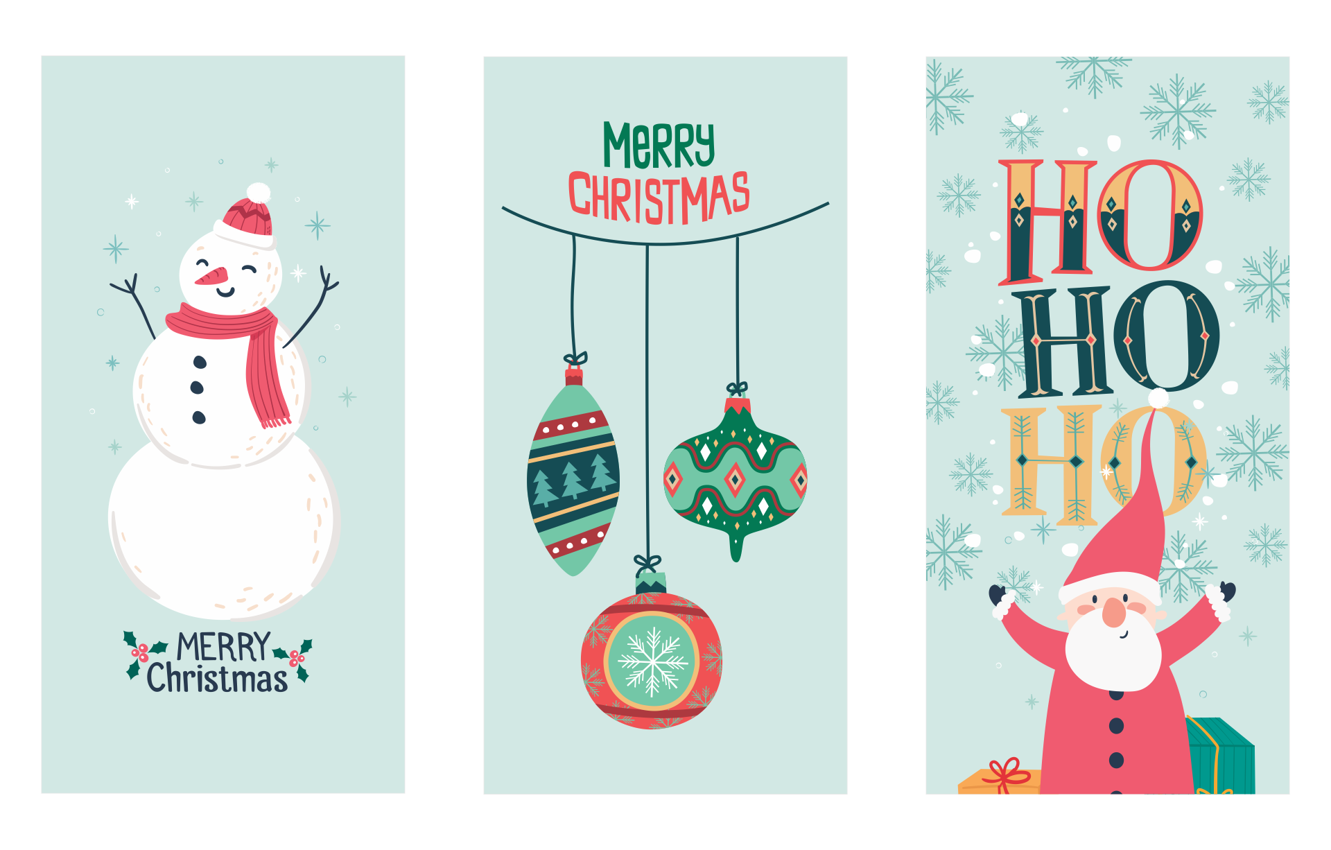 Printable Christmas Bookmarks