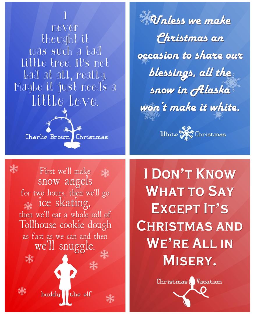 Printable Christmas Sayings