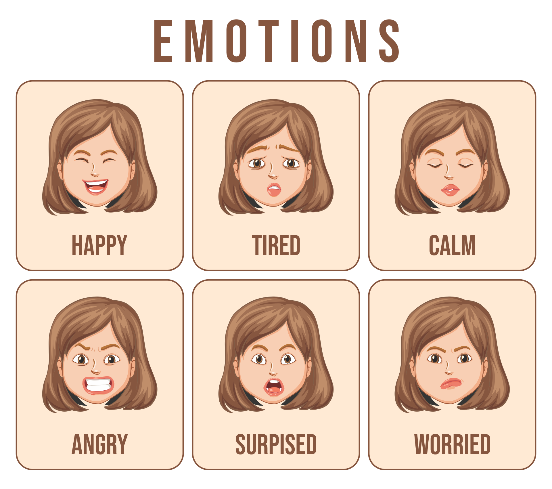 Printable Emotion Cards Autism