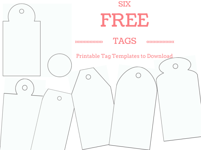 Gift Tags Free Printable Wedding Templates - Printable Blank Gift Tags ...