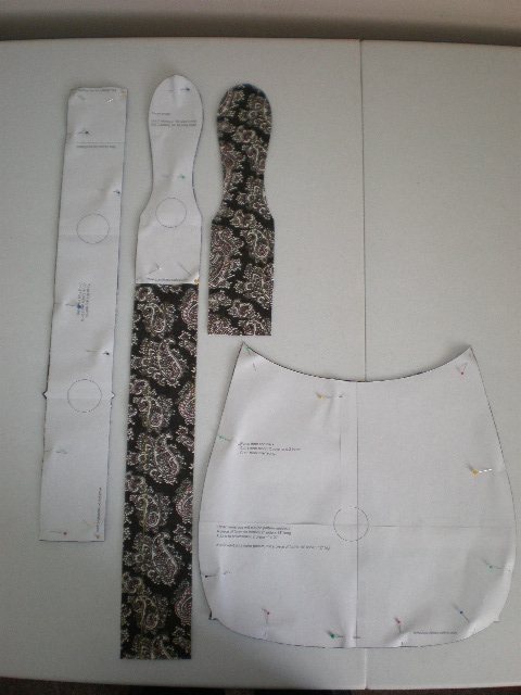 6 Images of Printable Hobo Bag Pattern