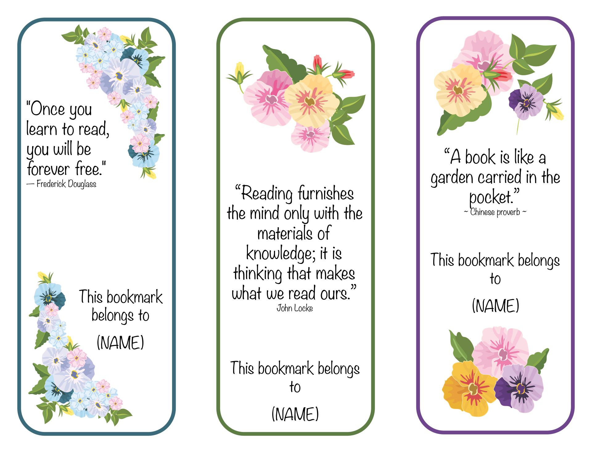 8 best images of obituary bookmarks free printable free for Free memorial bookmark template download
