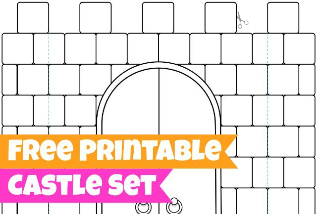 6 Images of Printable Elsa And Castle Craft