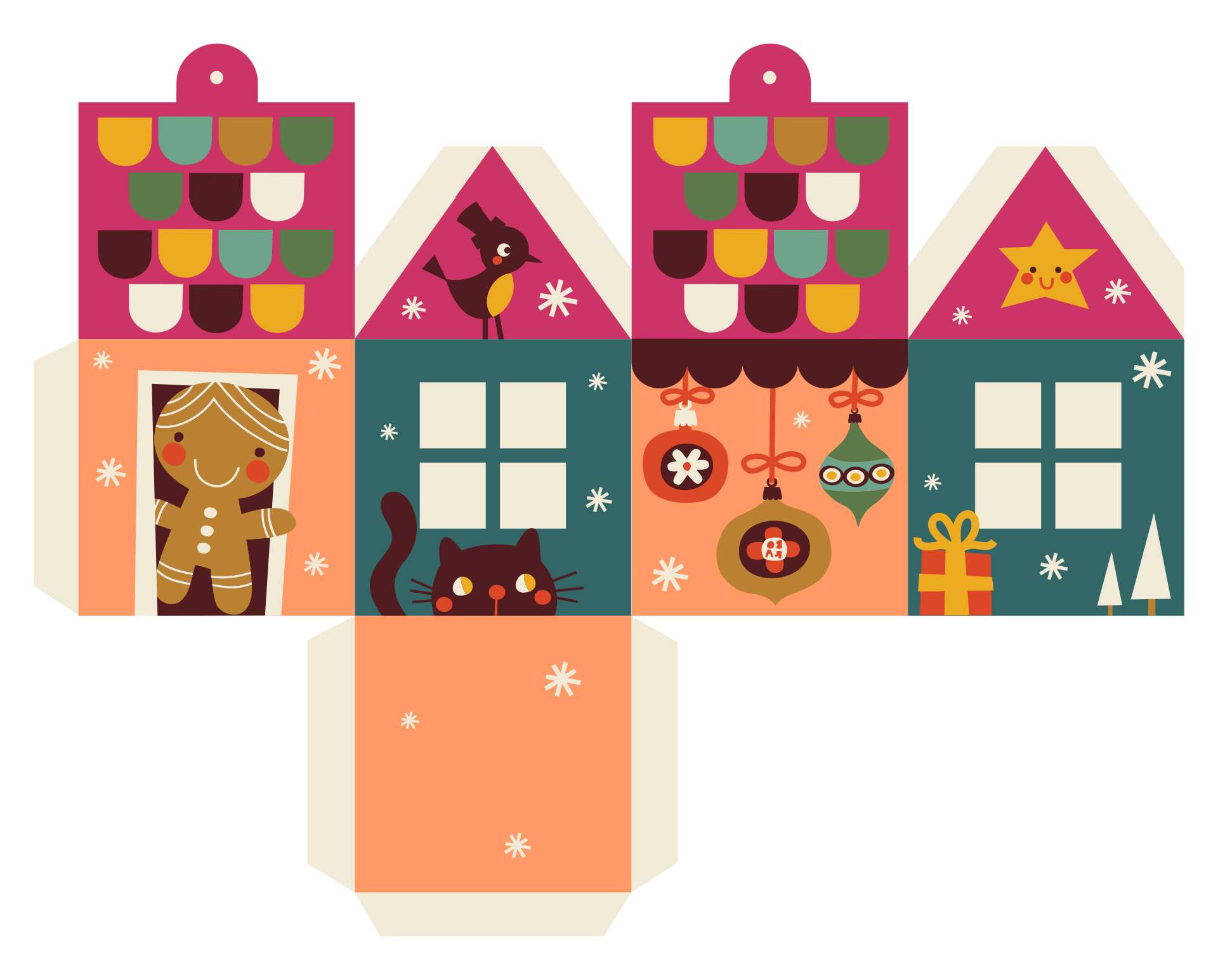 Printable Paper House