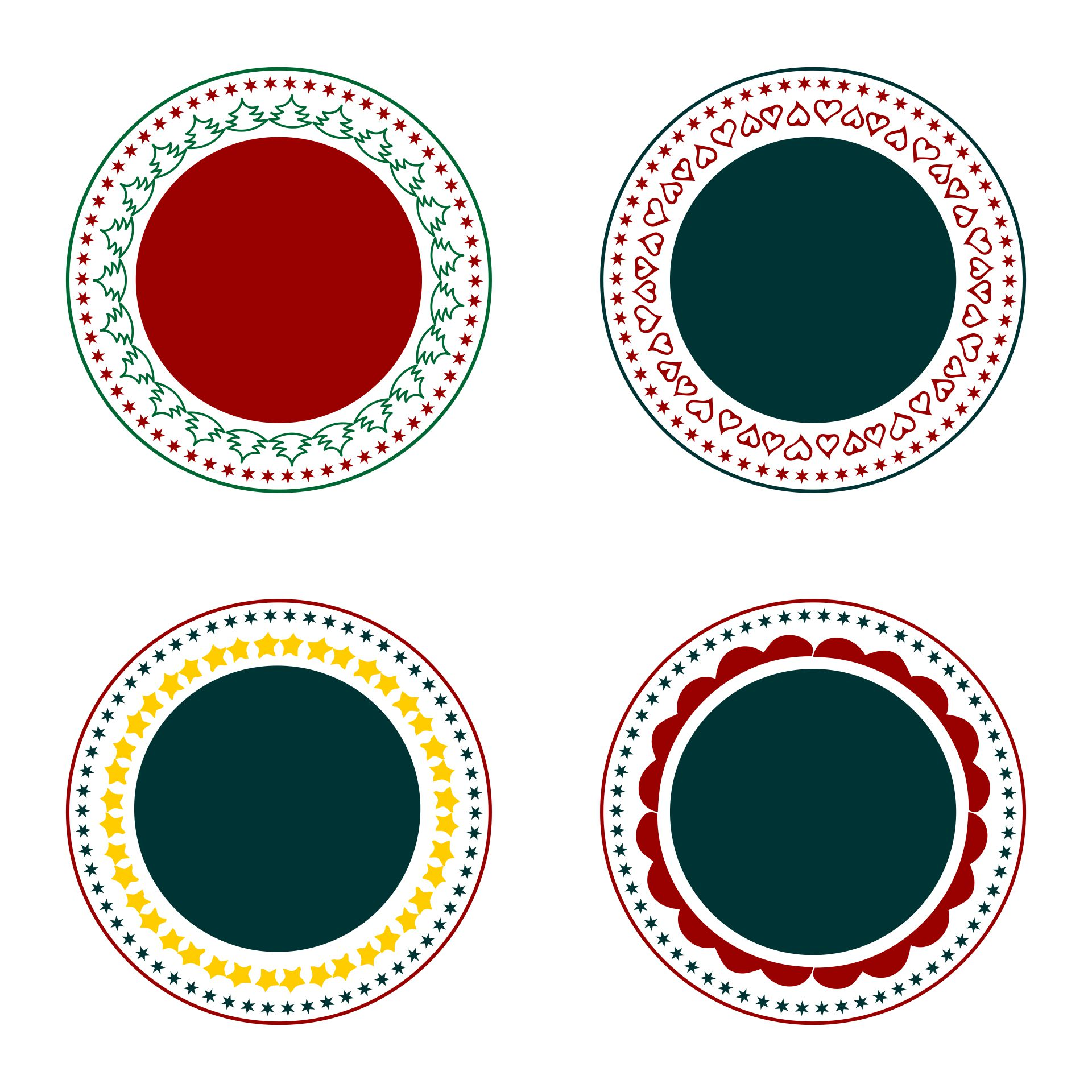 Free Printable Round Label Templates