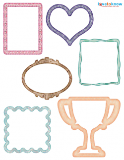 8 best images of free scrapbook frames printable scrapbooking