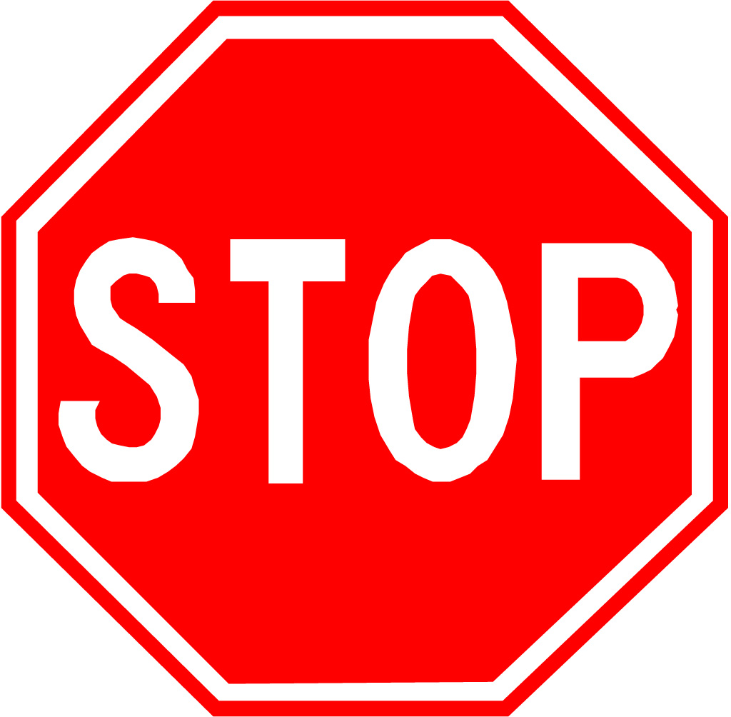 Printable Stop Sign Template