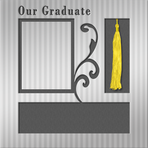 Graduation Scrapbook Pages Layout Ideas