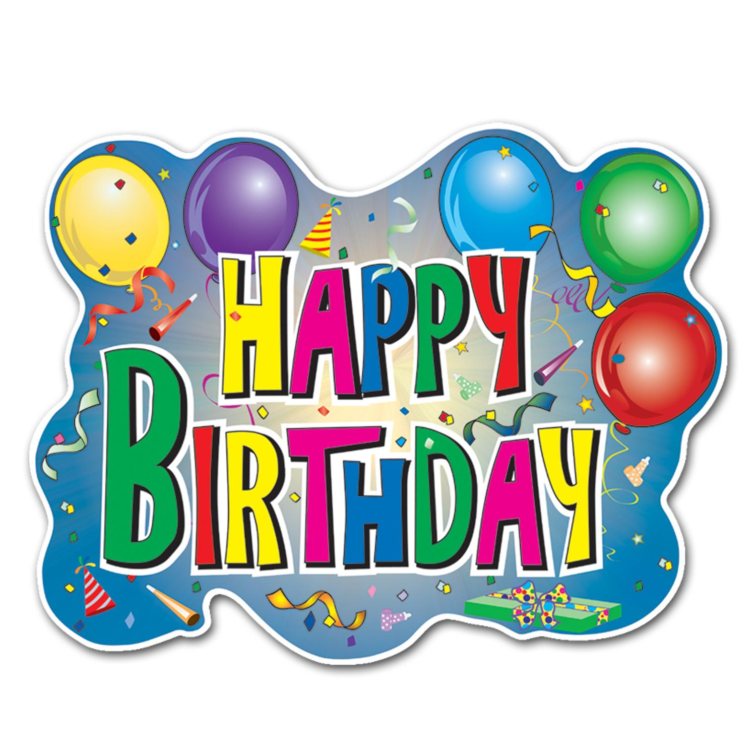 Irresistible image regarding free printable happy birthday signs