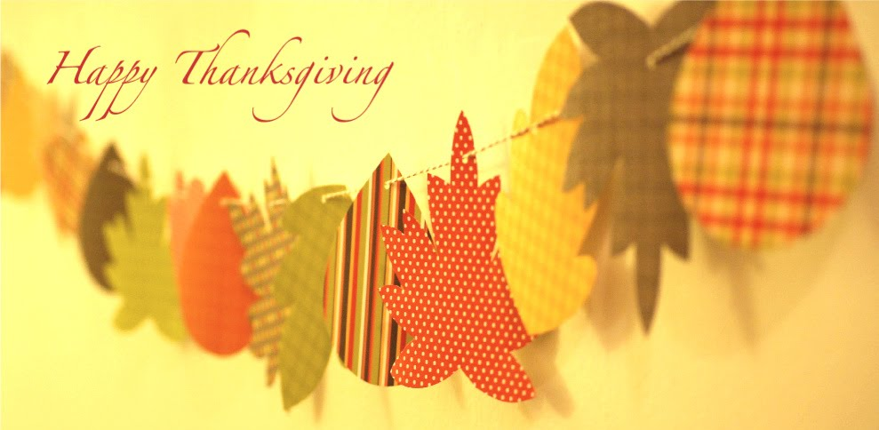 Happy Thanksgiving Banner Printable Free