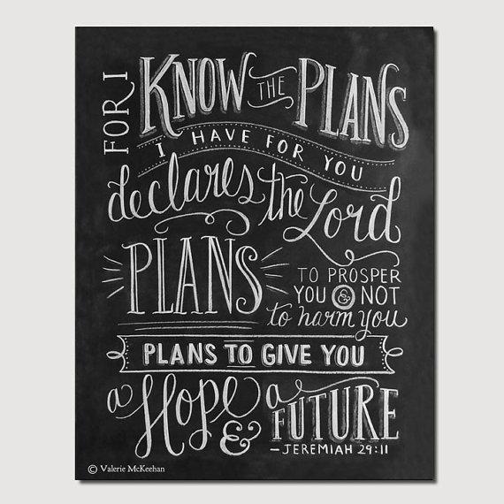 8 Images of Free Printable Jeremiah 29 11 Bible Verse Art