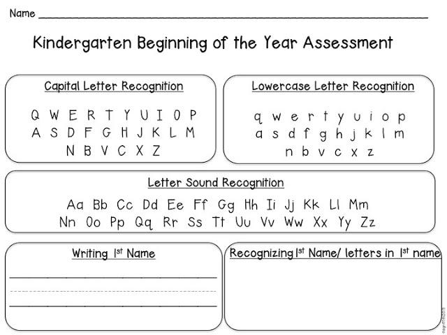 preschool readiness test 6 best images of free printable initial kindergarten 46808