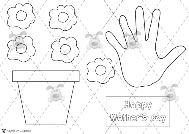 5 Images of Activities Mother's Day Printables