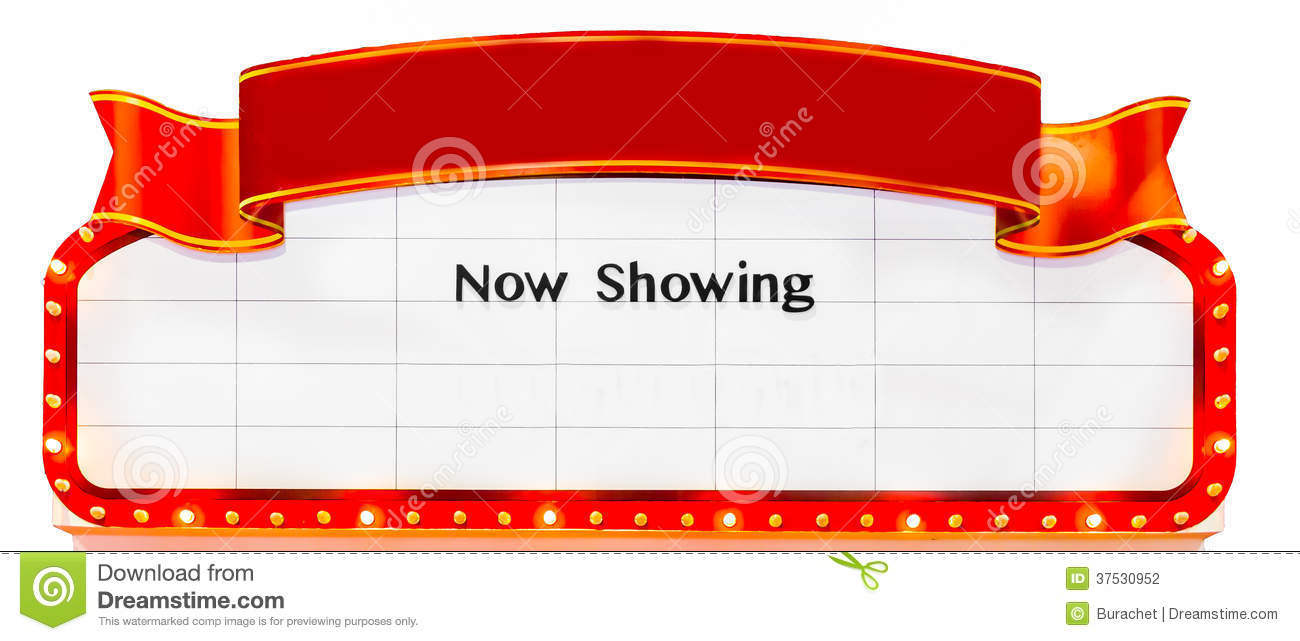8 best images of now showing movie sign printable