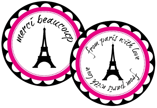 5 Images of Paris Themed Birthday Party Free Printables