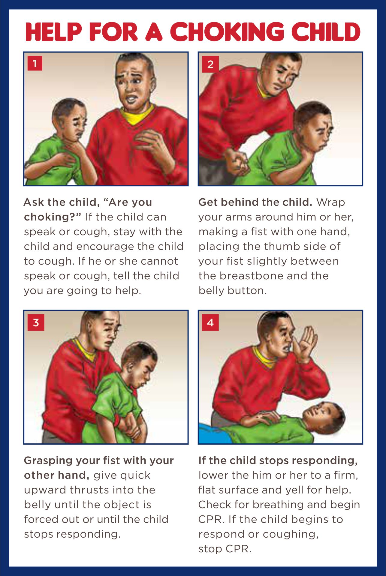 Printable First Aid for Children