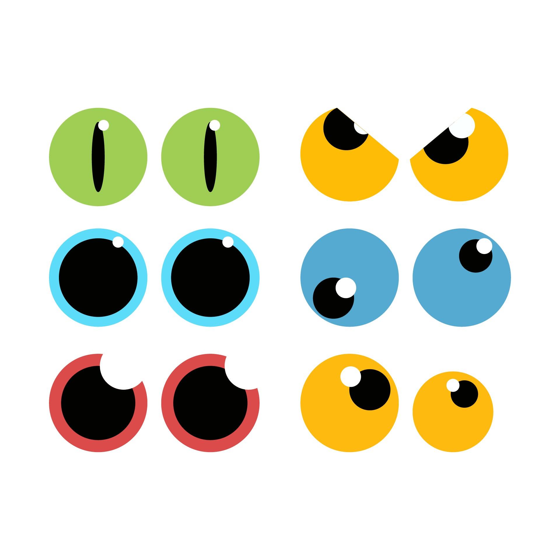 Printable Halloween Eyes