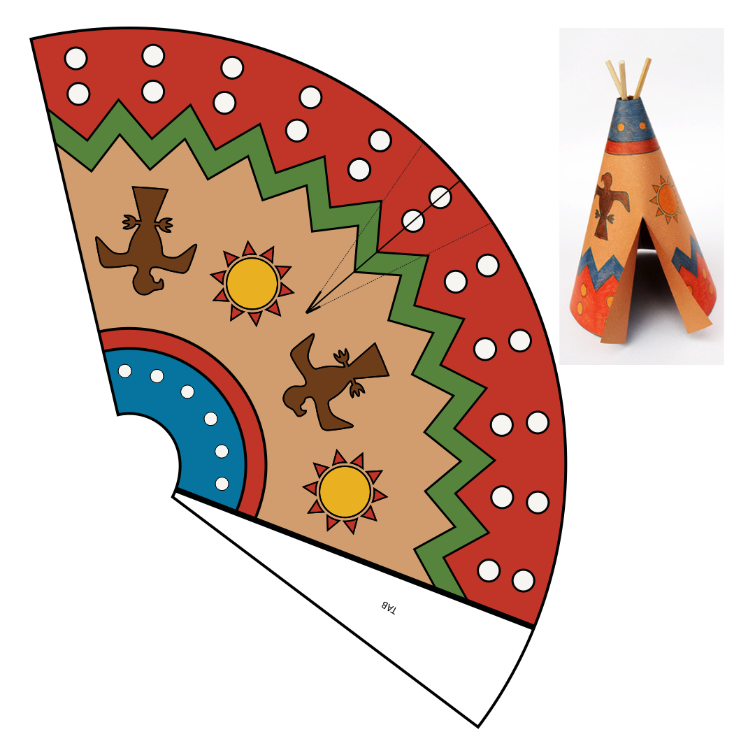 Printable Native American Crafts