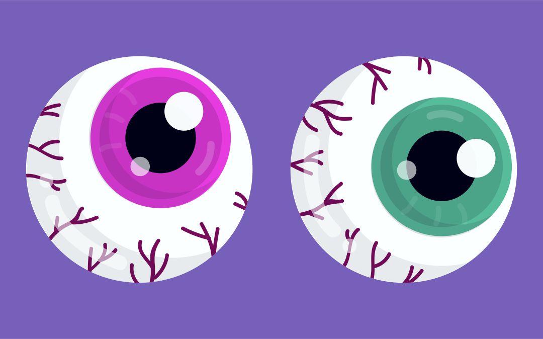Printable Scary Eyes