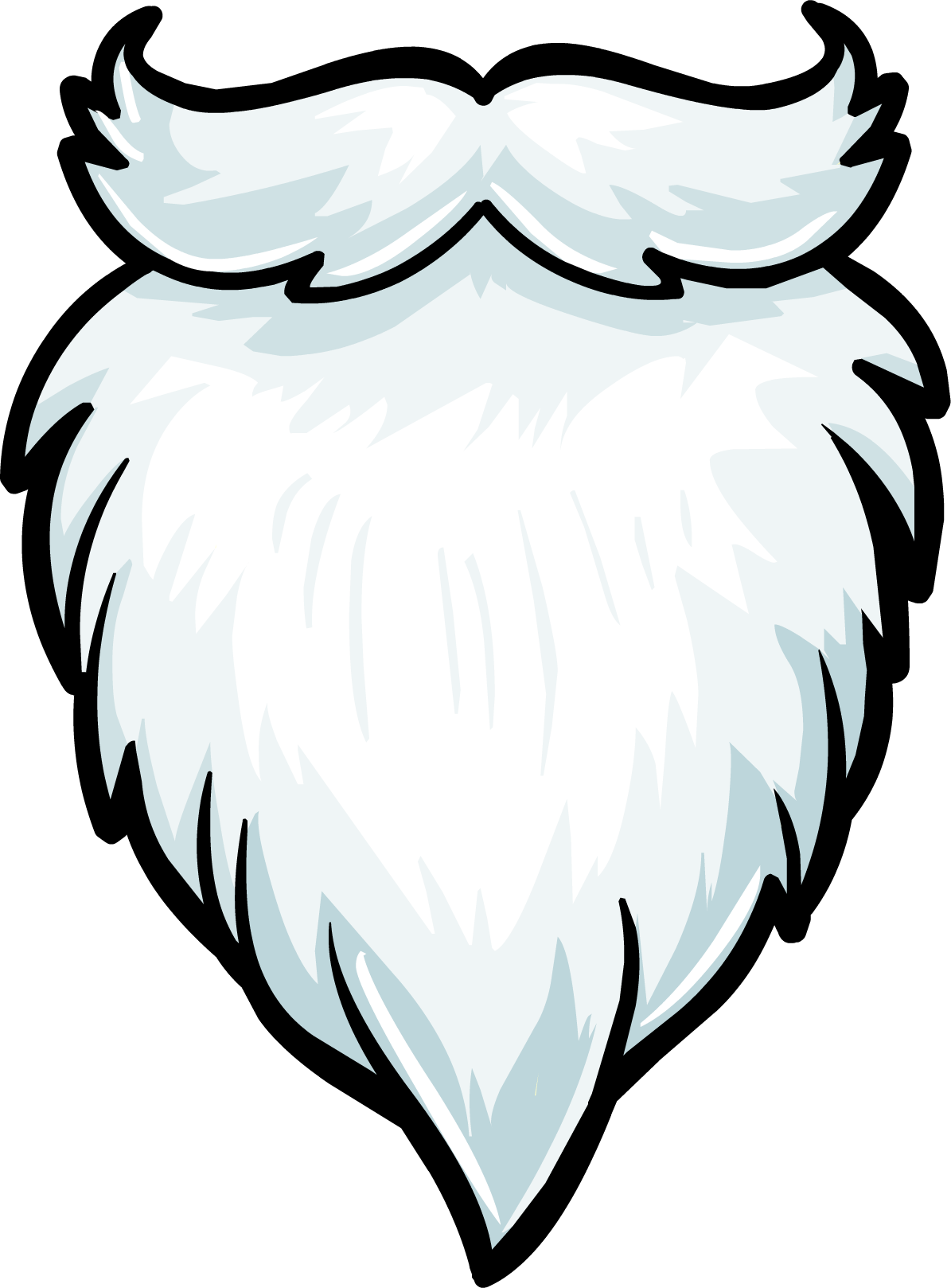 Santa Beard Coloring Page 7 best images of printable santa claus beard ...