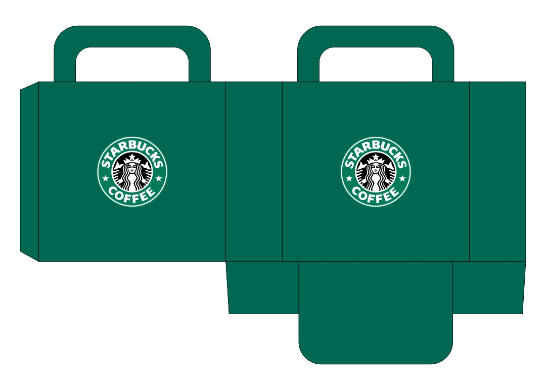 Starbucks Printables Dollhouse