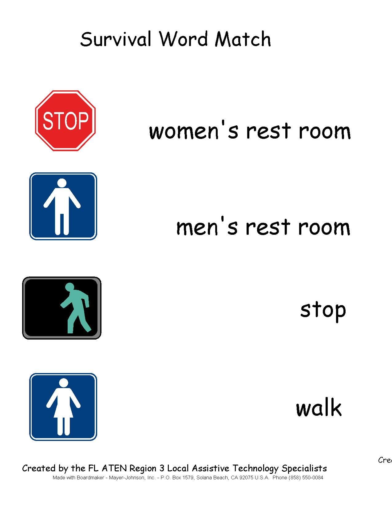 6 Best Images of Printable Community Signs - Community Safety Signs and Symbols, Free Printable ...