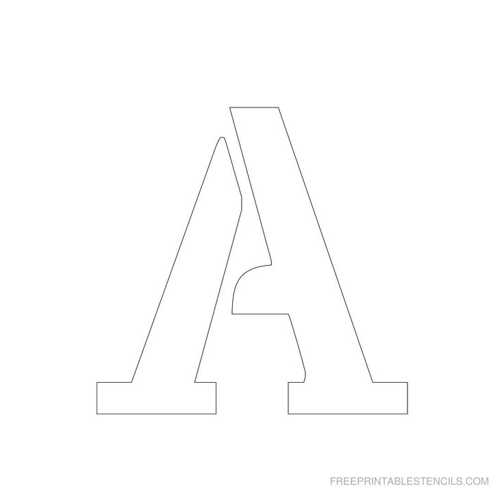 7 Images of 3 Inch Alphabet Printable
