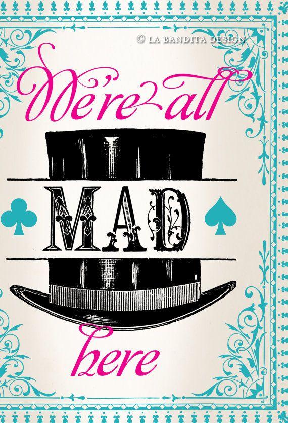 Alice in Wonderland Party Printables