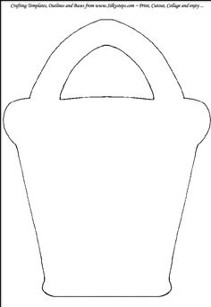 4 best images of sand bucket template printable