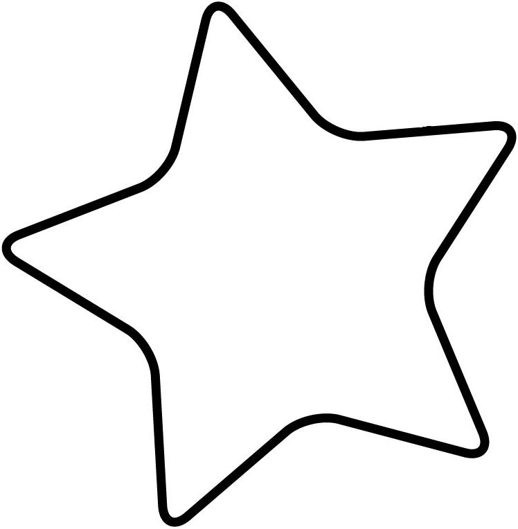 9 Images of Blank Star Template Printable