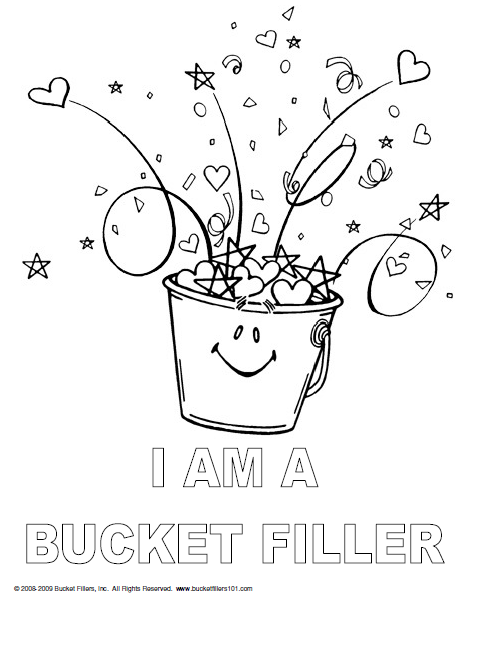 Have You Filled A Bucket Today Worksheets - Gamersn