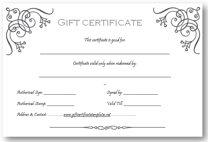 Doc Online Gift Certificate Template 17 Best ideas about Free – Online Certificate Template