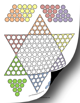 chinese checkers board template 7 best images of checkers game printable template free