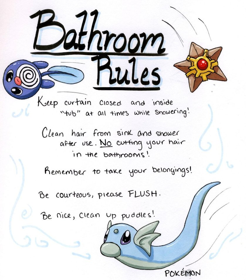 6 Best Images of Work Bathroom Rules Printable - Funny ...