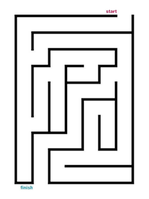 Number Names Worksheets simple maze for kids : 7 Best Images of Pokemon Printable Mazes Easy - Printable Pokemon ...