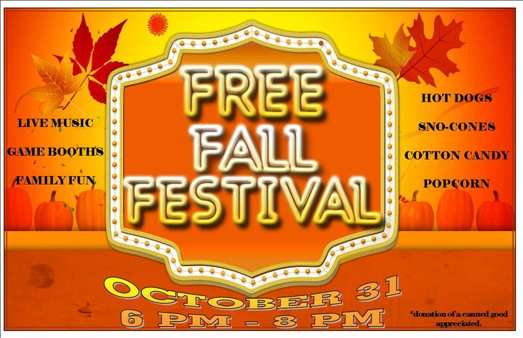 7 Best Images of Free Printable Fall Festival Flyer Templates ...