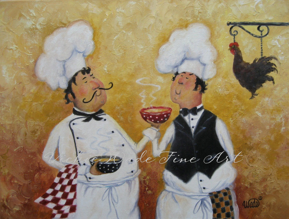 6 Images of Fat Chef Wall Art Printable