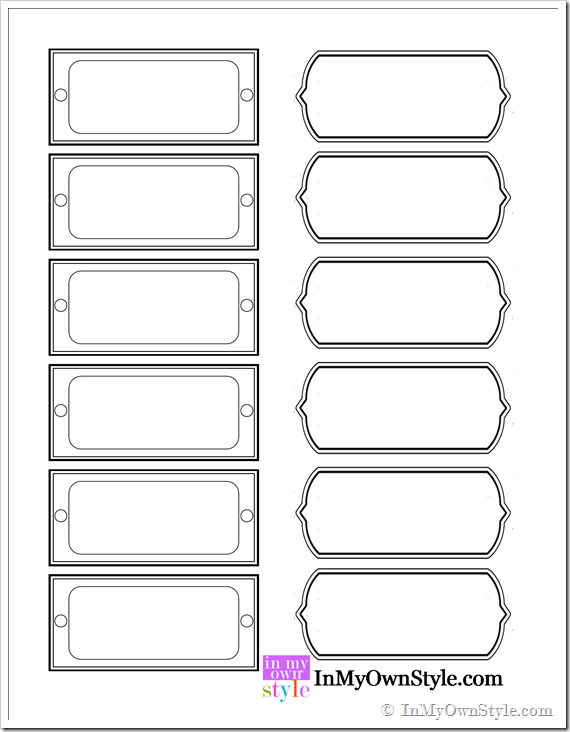 6 best images of blank printable drawer labels free printable blank label templates blank. Black Bedroom Furniture Sets. Home Design Ideas