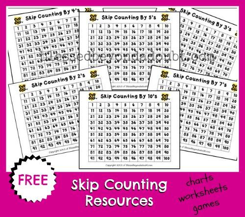 Printable Skip Counting Worksheets Laptuoso – Skip Counting Worksheets Free