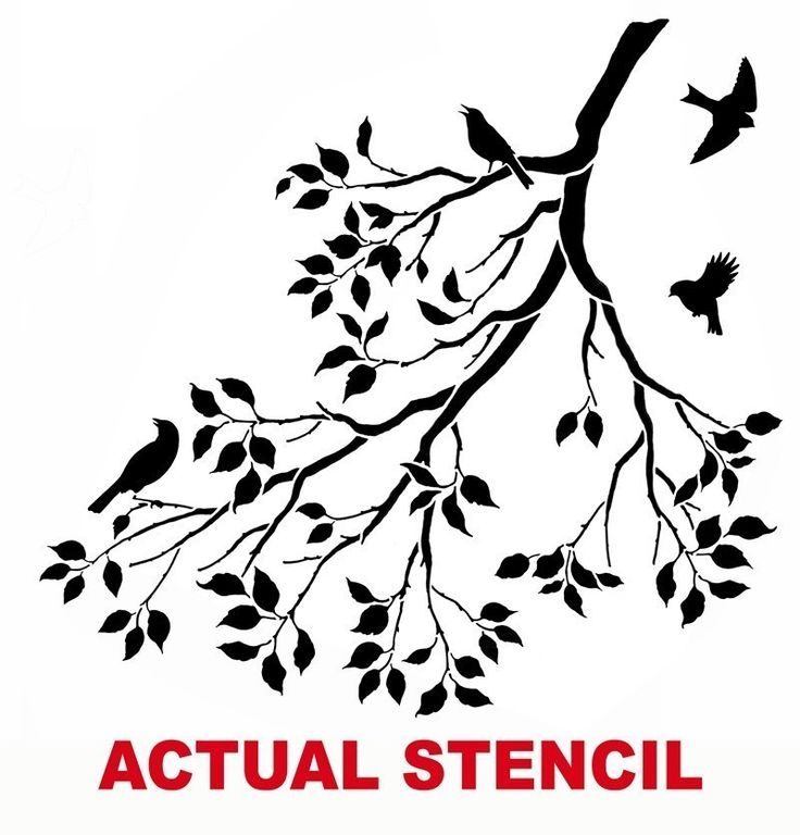 6 Images of Printable Mirrored Saying Stencils