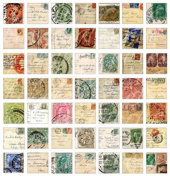6 Best Images of Free Printable Stamps - Free Printable Vintage ...