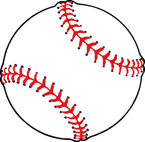 8 Images of Baseball Clip Art Free Printable