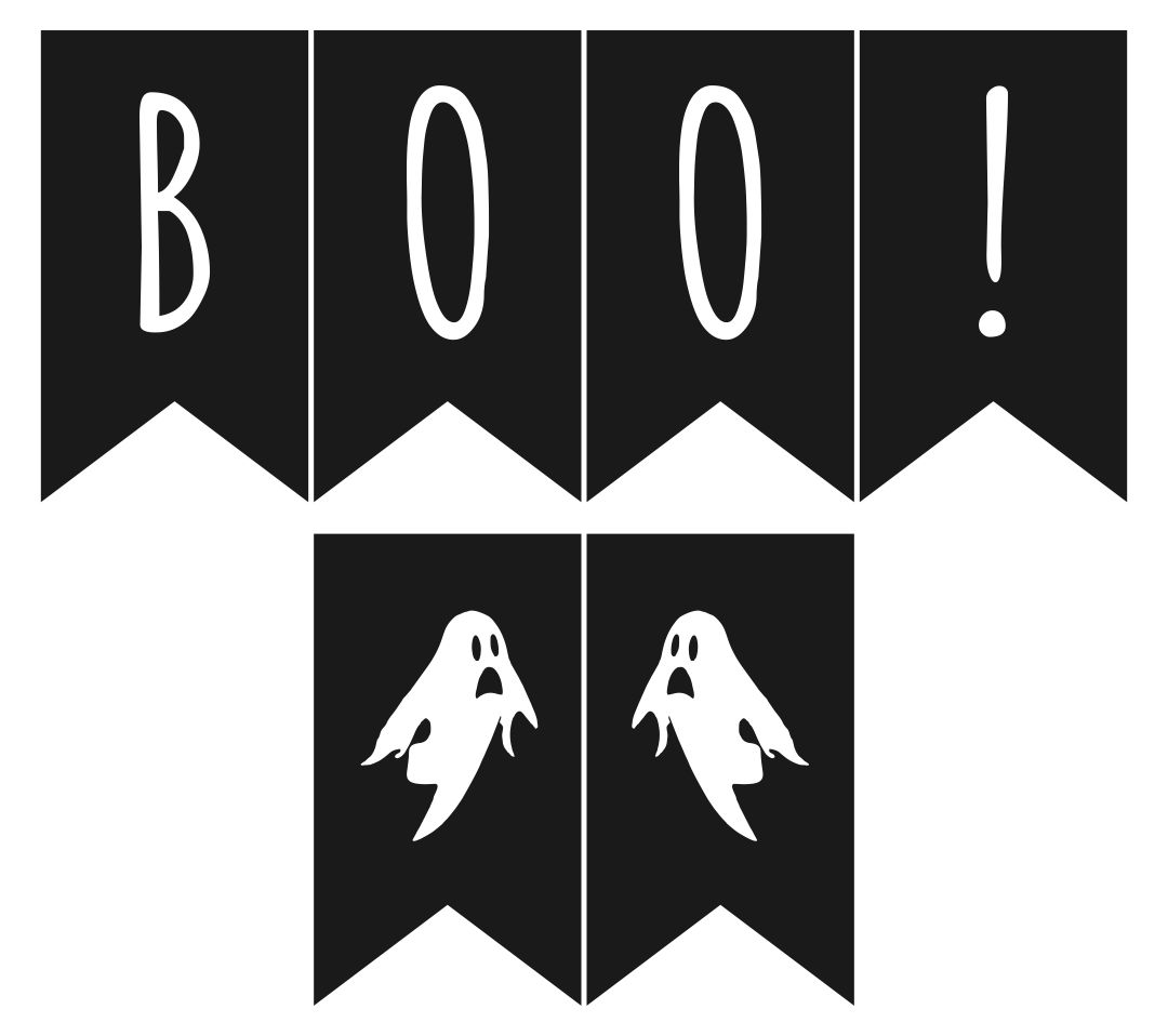 9 Images of Halloween Printable Banners Letters